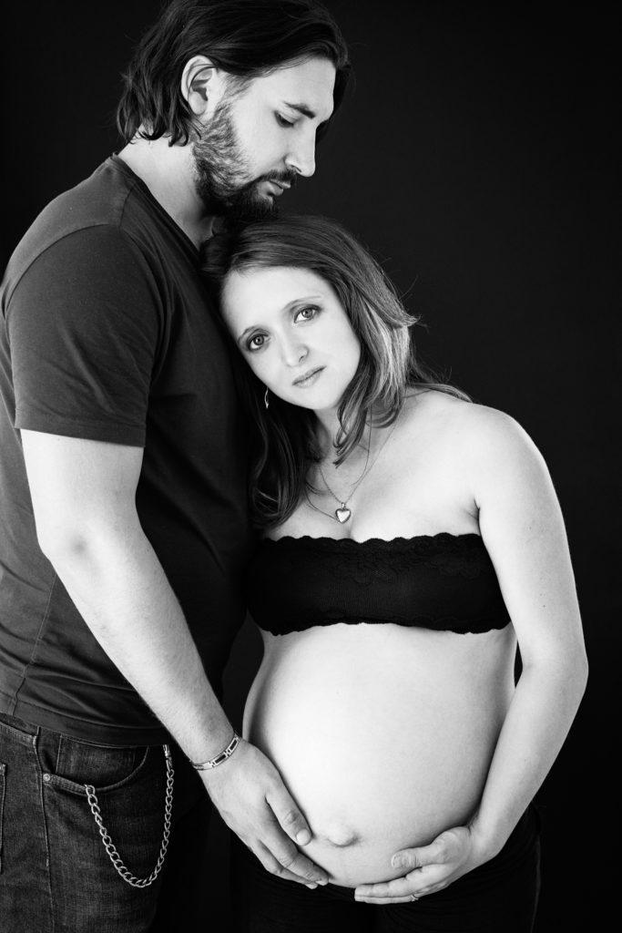 photo grossesse portrait couple lot-et-garonne marmande tonneins virazeil