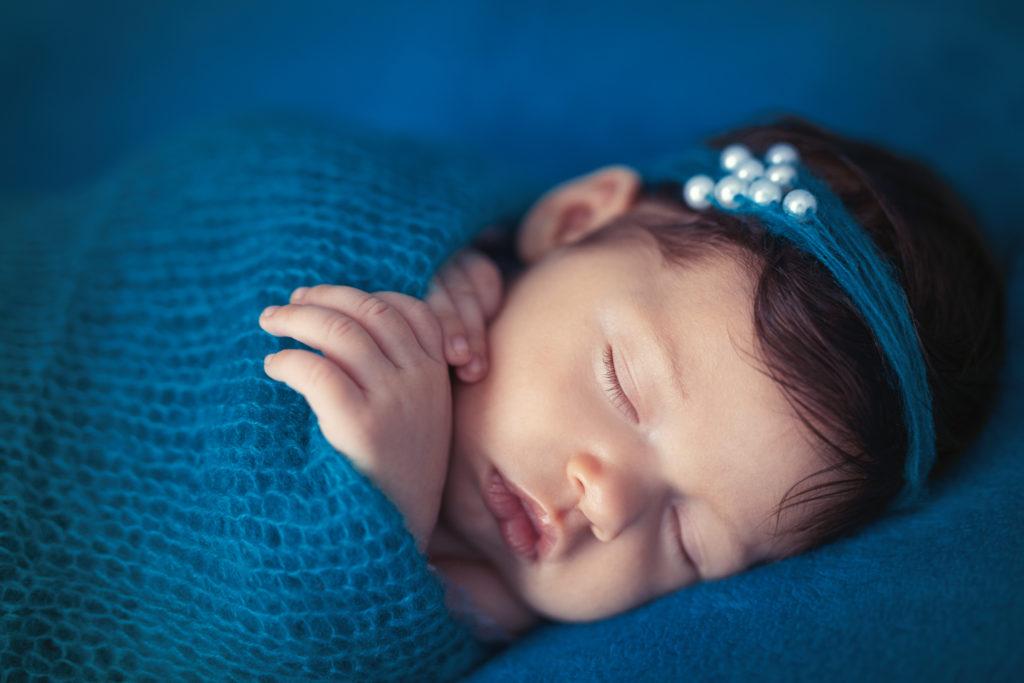 photo artistique nouveau-né bébé bleu lot-et-garonne marmande tonneins virazeil
